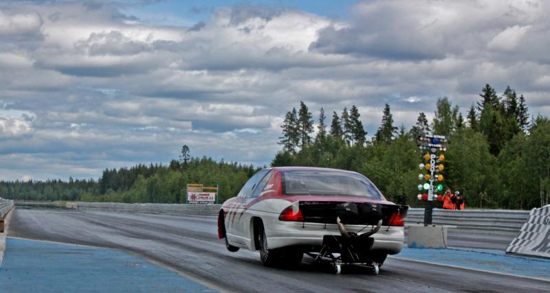La 911 Turbo S sur les courses de Dragsters depuis des années
