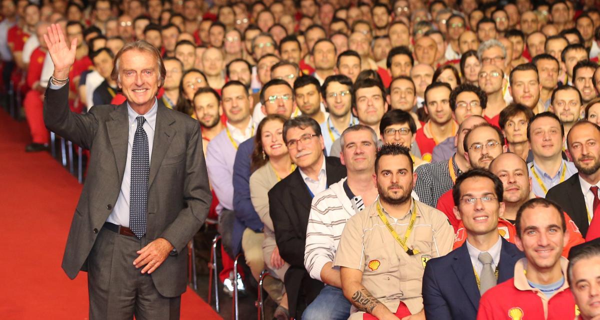 F1 : pour Luca di Montezemolo, Ferrari doit garder Sebastian Vettel