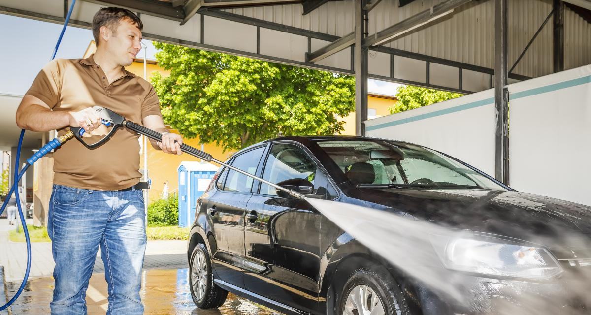 Fous des PV : une prune de 135€ pour avoir lavé sa voiture