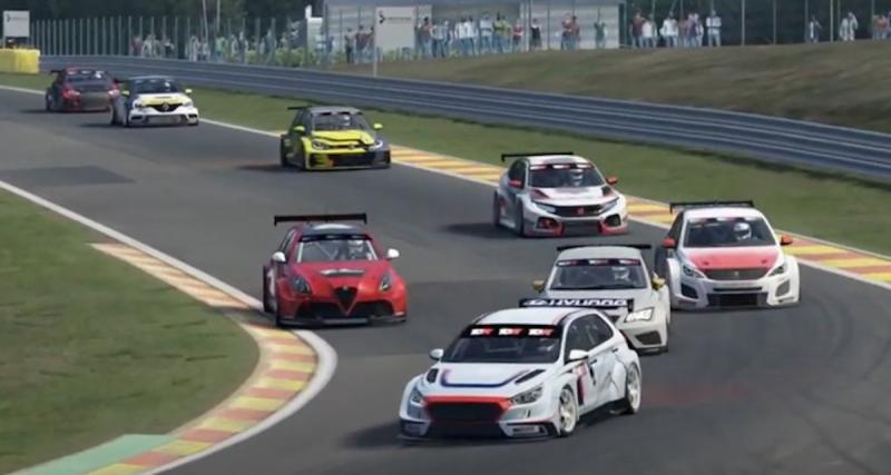 TCR Europe Sim Racing ce samedi 2 mai : un rendez-vous à ne pas manquer !
