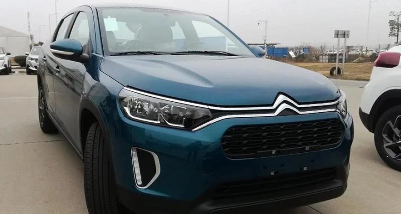 Citroën C3L : un mélange SUV-berline commercialisé en Chine