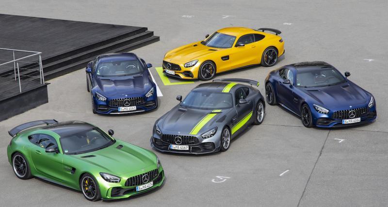 Mercedes AMG GT R Black Series : l'étoile filante en phase de test au Nürburgring