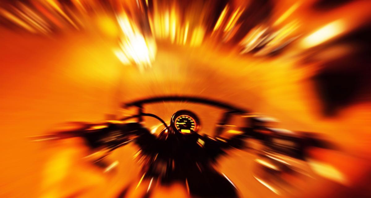 Un motard flashé à 226 km/h sur une route limitée à 80 !