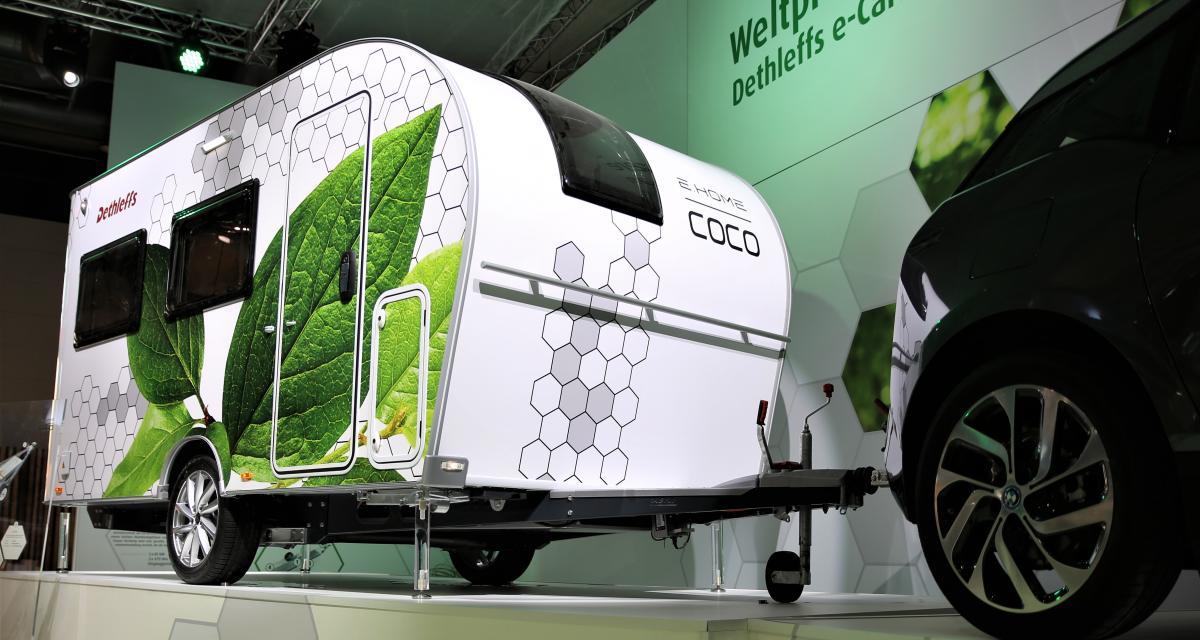 Dethleffs e.home Coco : la caravane autopropulsée du futur