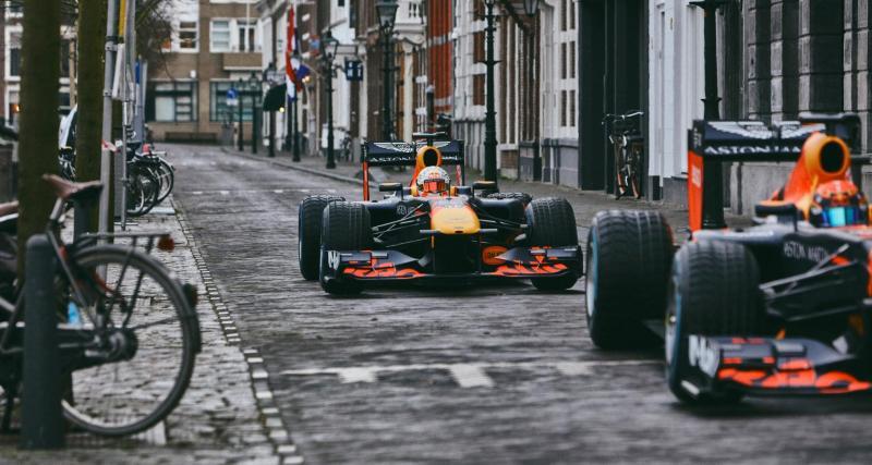 F1 - Red Bull : balade en monoplace pour Verstappen et Albon à Zandvoort