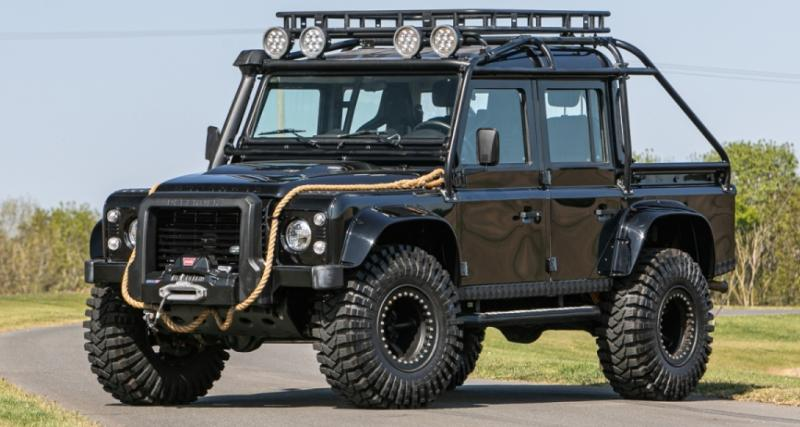 """Land Rover Defender """"Spectre"""" : pour jouer les méchants contre James Bond !"""