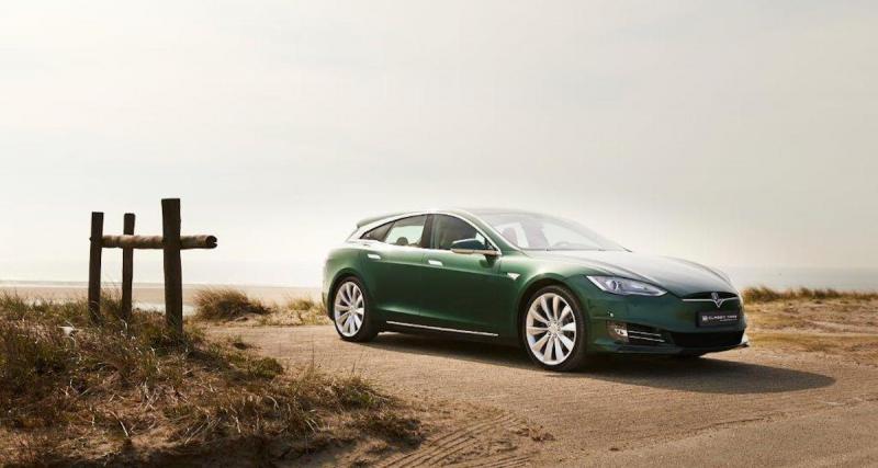 Tesla Model S Shooting Brake : modèle unique à vendre pour 225.000 €