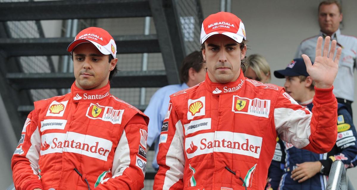 F1 - Felipe Massa : « Le meilleur et le plus dur à battre était Alonso »
