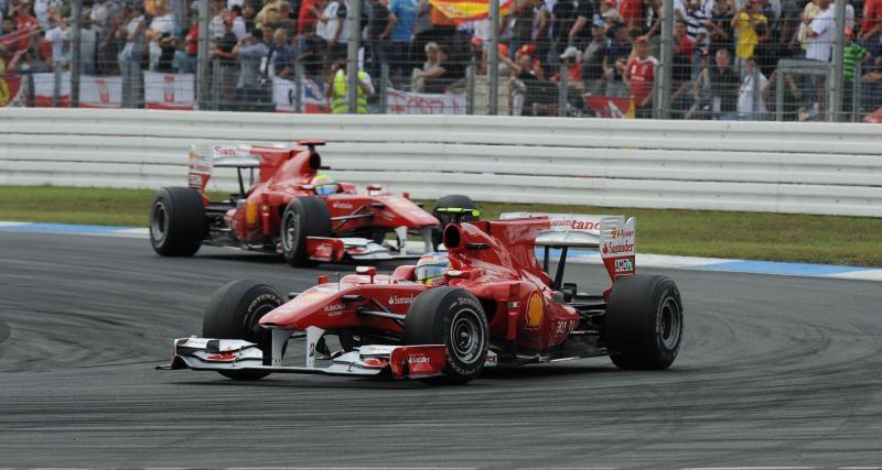 Alonso au dessus de Schumi
