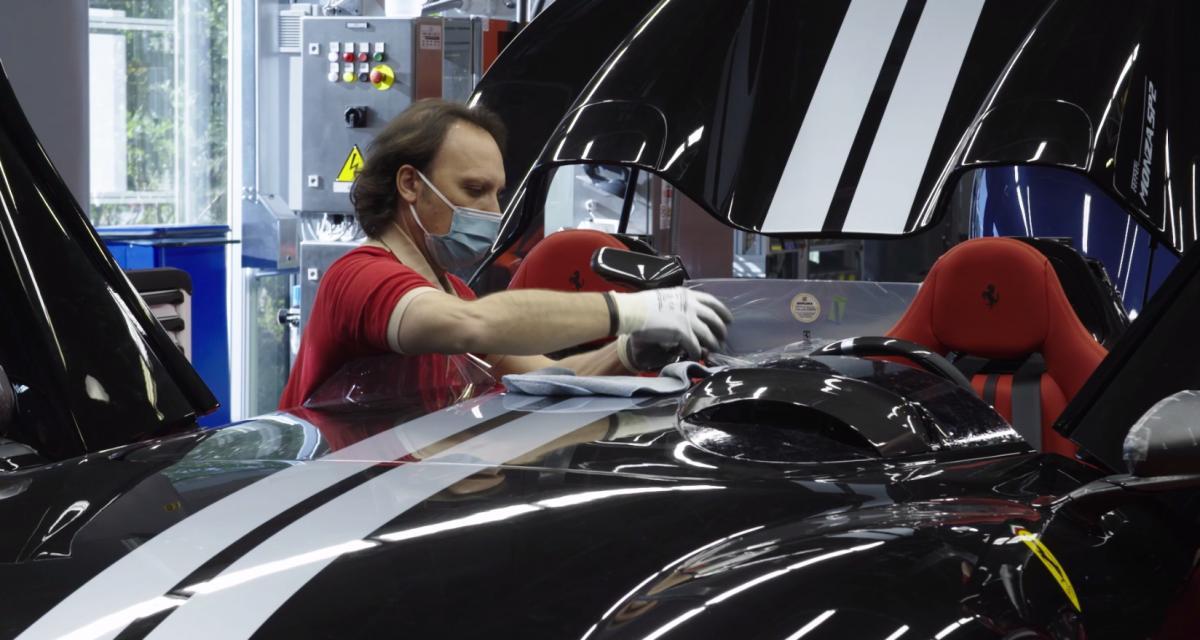 Ferrari relance sa production à Maranello et Modène