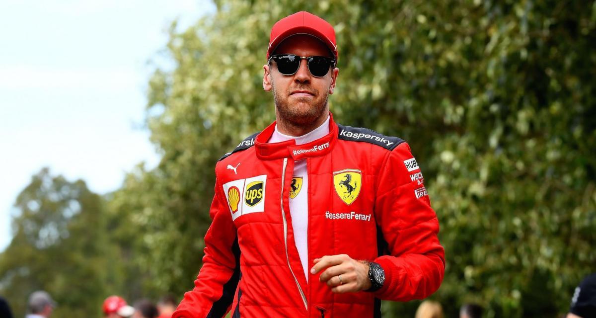 F1 : nouvelle offre de Ferrari à Vettel