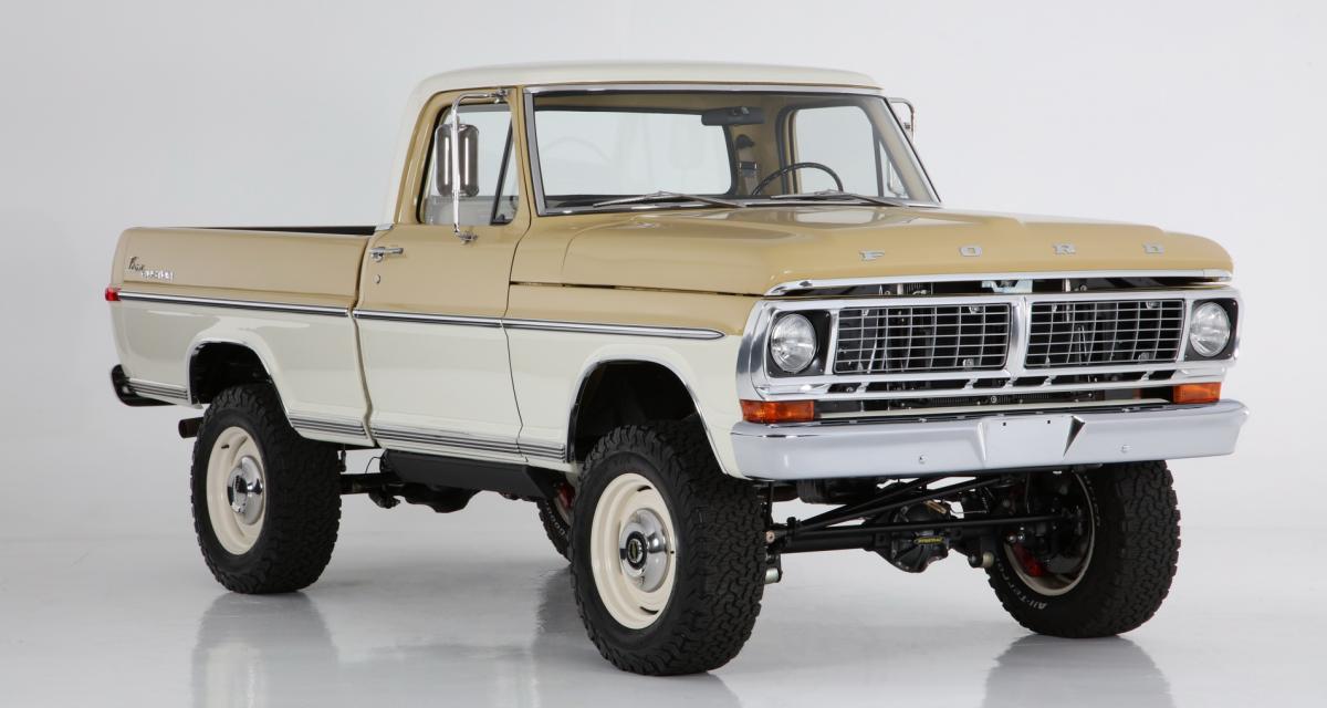 Ford F-100 Reformer by ICON : une mécanique moderne dans un truck des années 70