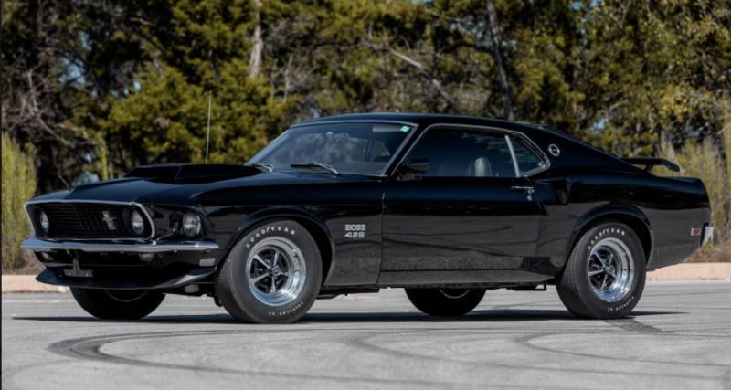 Ford Mustang Boss 429 : la muscle car de Paul Walker en vente