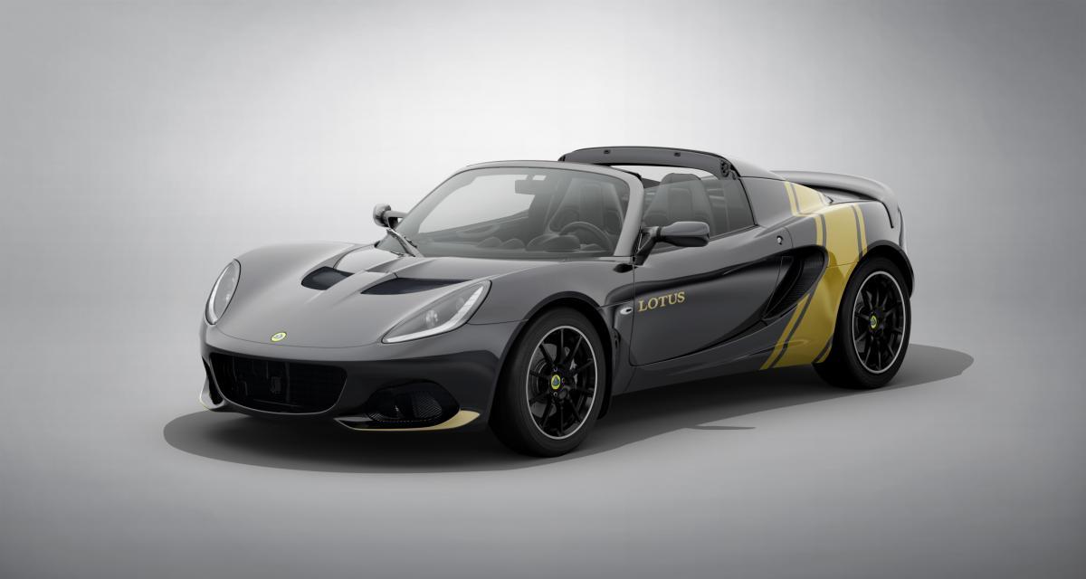 Lotus Elise Classic Heritage : une série limitée haute en couleurs
