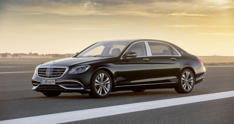 Mercedes-Maybach Classe S (2021) : la nouvelle limousine en développement