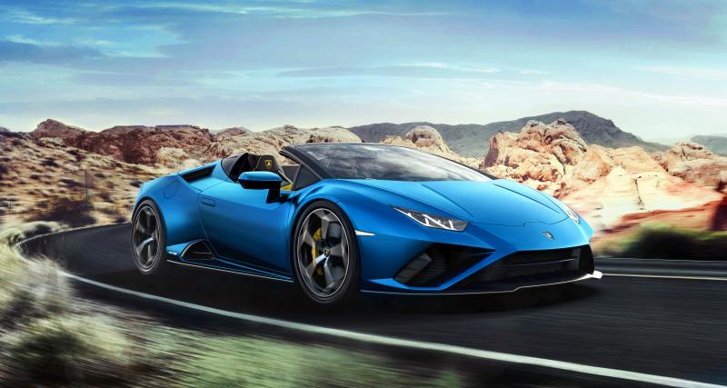 Lamborghini Huracan EVO RWD Spyder : le taureau infernal enlève le haut
