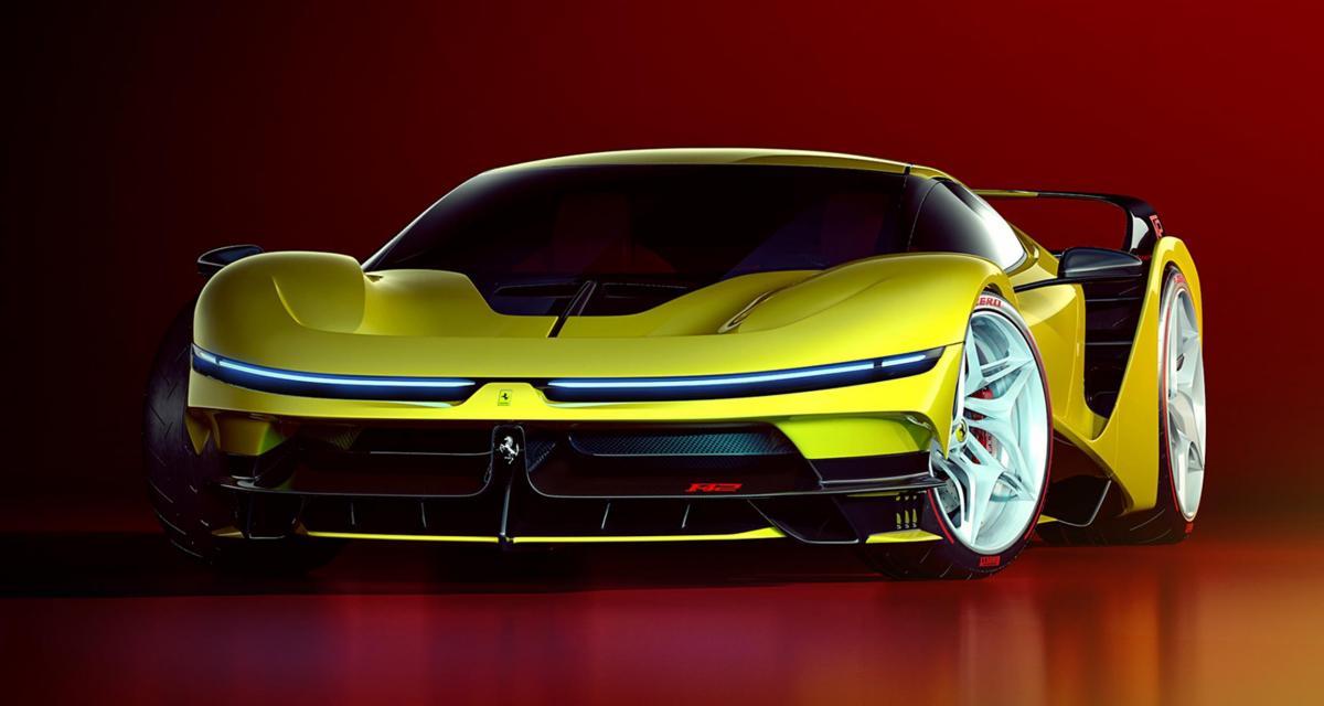 Ferrari F42 : la descendante de la F40