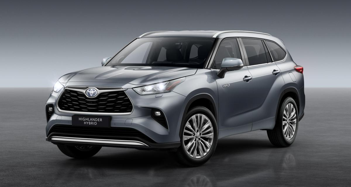 Toyota Highlander Hybride : commercialisation en Europe du SUV sept places