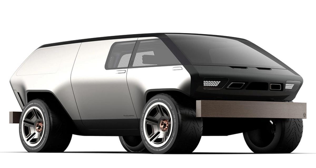 Concept Brubaker Box Minivan : le van du futur