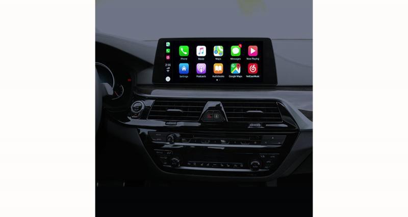 iCartizan commercialise une interface CarPlay Wireless pour les BMW