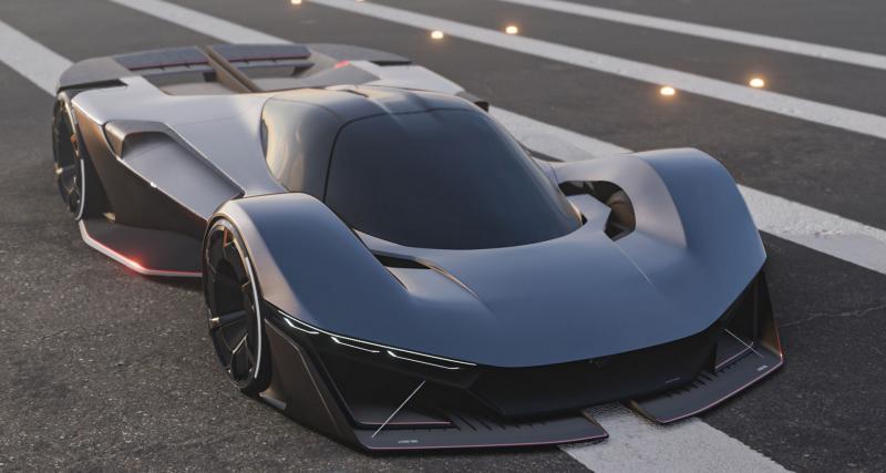 Ford Mustang Vision 001 (2030) : et si la bruyante muscle car devenait une hypercar silencieuse ?