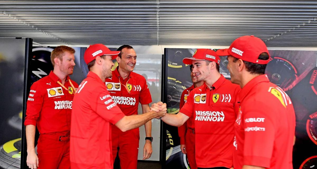 F1 : la réaction de Charles Leclerc à l'annonce du départ de Sebastian Vettel