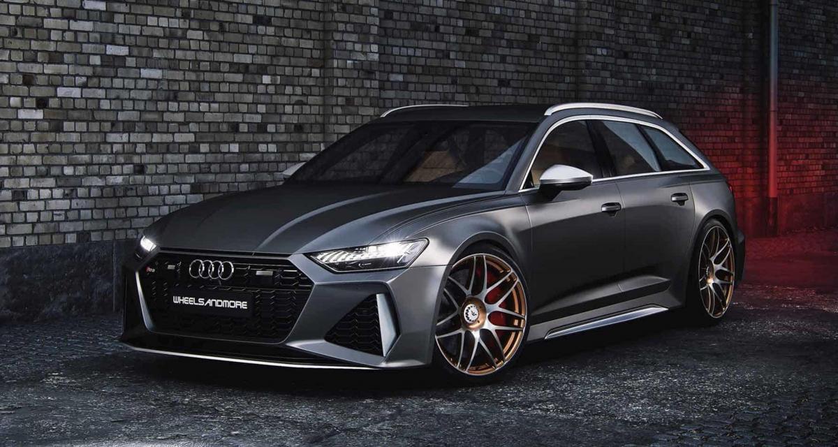 Audi RS6 by Wheelsandmore : le break passe la barre des 1000 ch