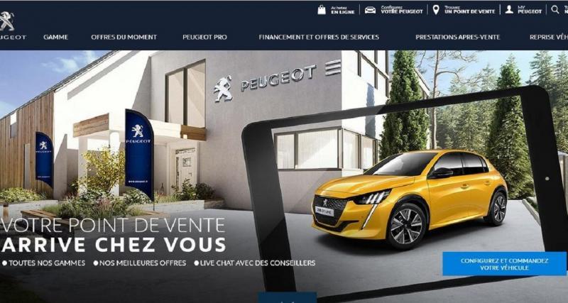 Peugeot Store : les ventes démarrent bien