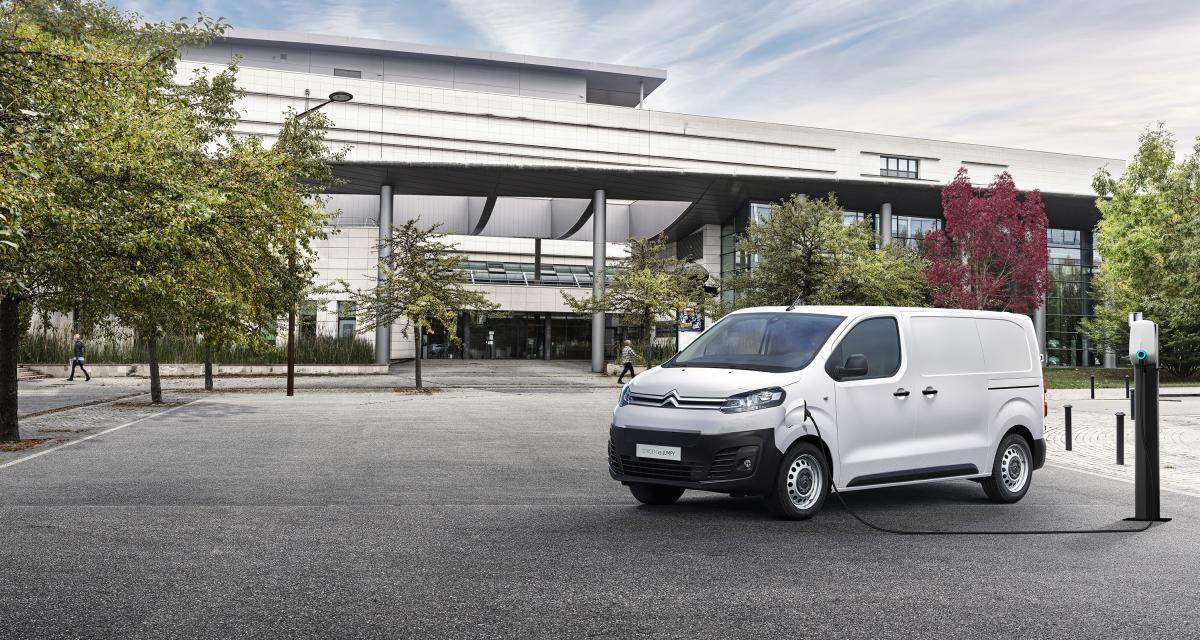 Citroën ë-Jumpy : jusqu'à 330 km d'autonomie pour les pros