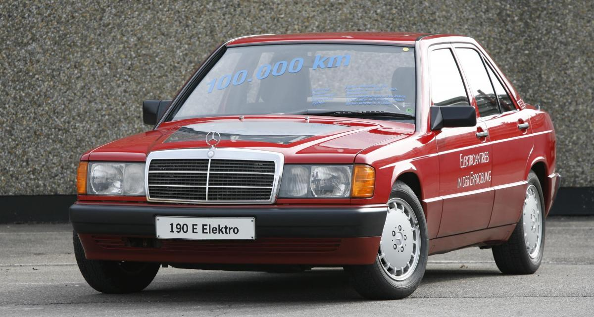 Mercedes-Benz 190 à moteur électrique : l'électromobilité avant l'heure