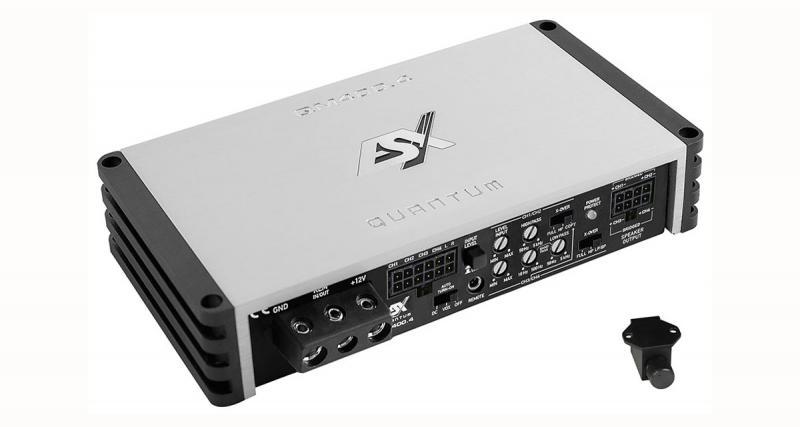 ESX commercialise un mini ampli 4 canaux puissant, compact et accessible