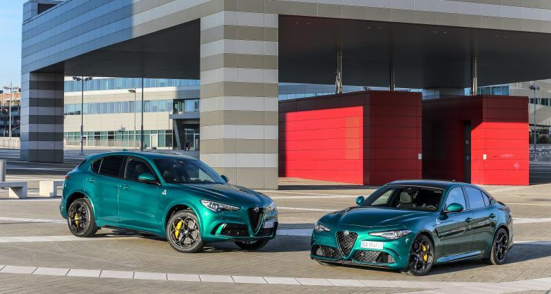 Alfa Romeo Giulia et Stelvio Quadrifoglio (2020) : mise à jour des trèfles à quatre feuilles