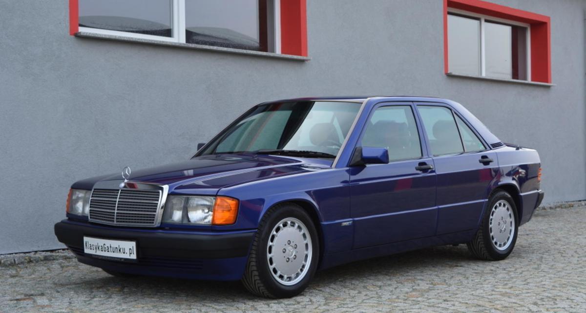 """Mercedes 190E """"Azzurro"""" : une youngtimer colorée en série limitée"""