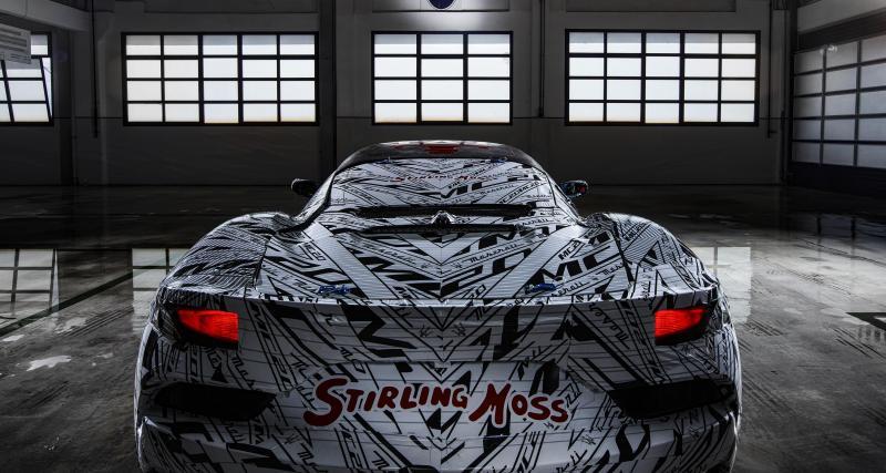 Maserati MC20 : un proto de course en hommage à Stirling Moss