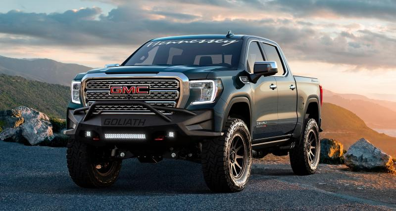 Hennessey Goliath 700 : le pick-up GMC Sierra au top de sa forme