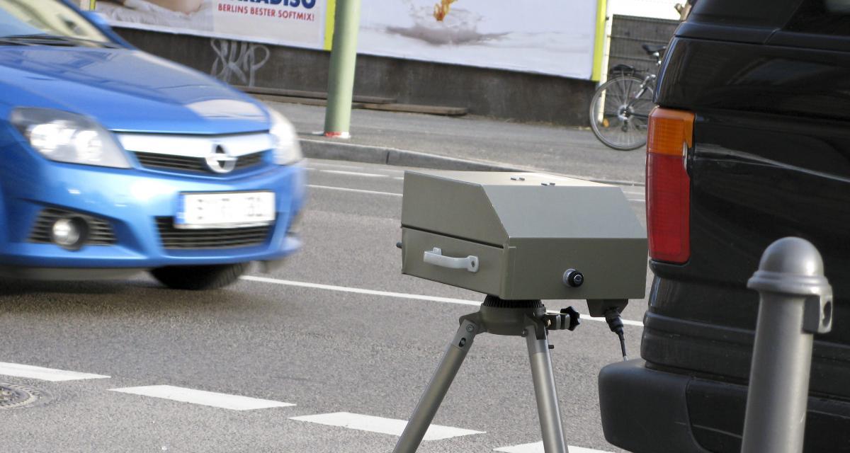 Un conducteur flashé à 142 km/h sur une départementale