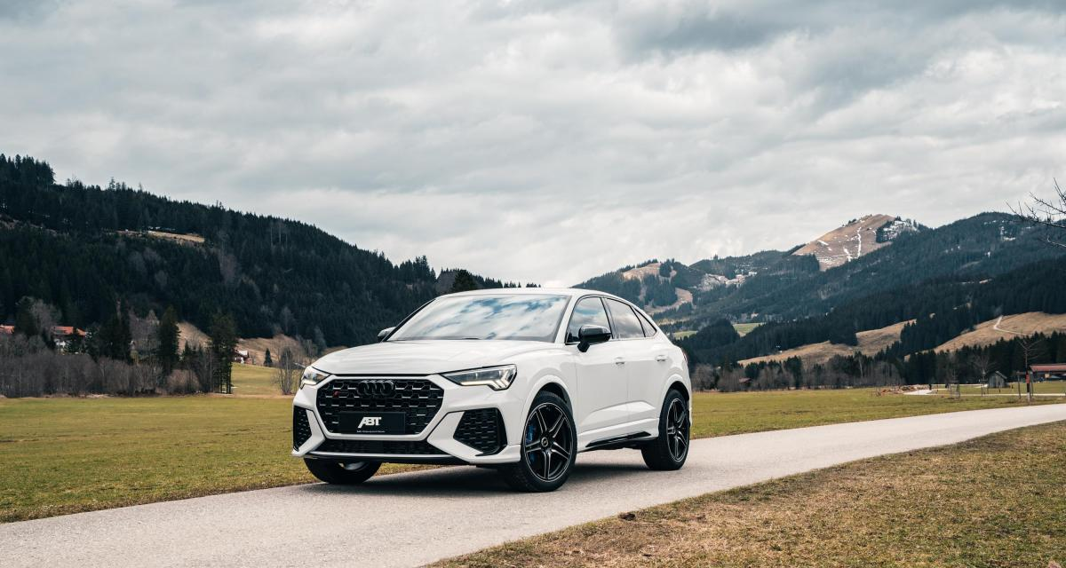 Audi RS Q3 par ABT Sportsline : le petit SUV gonfle ses muscles