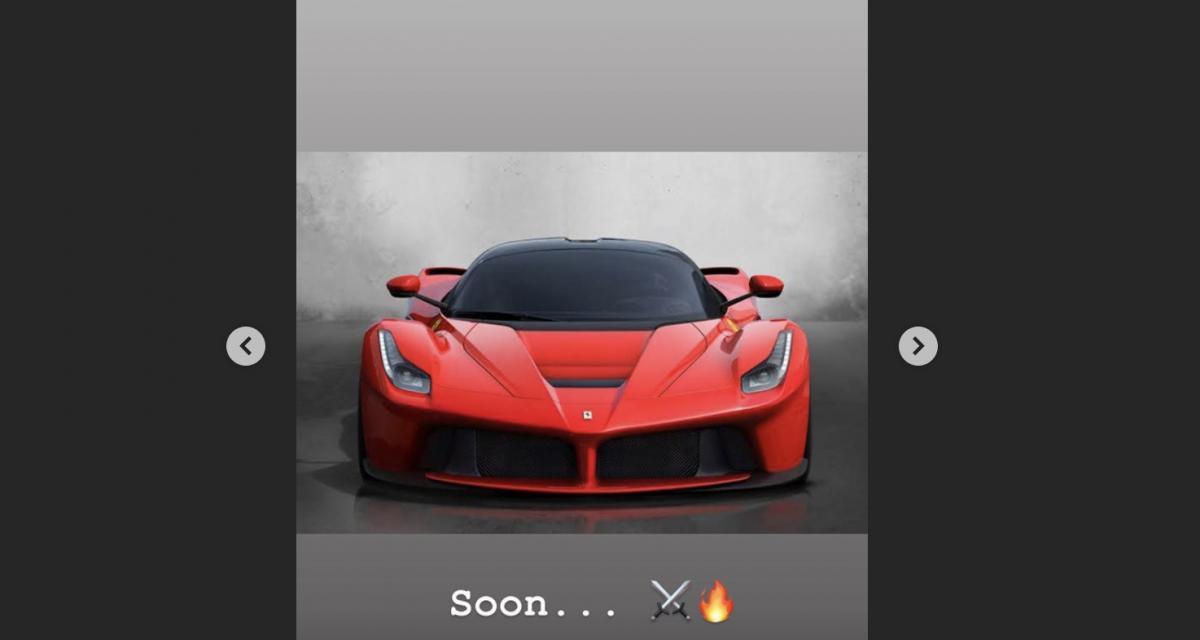 Benzema attend sa Ferrari LaFerrari de 963 chevaux !