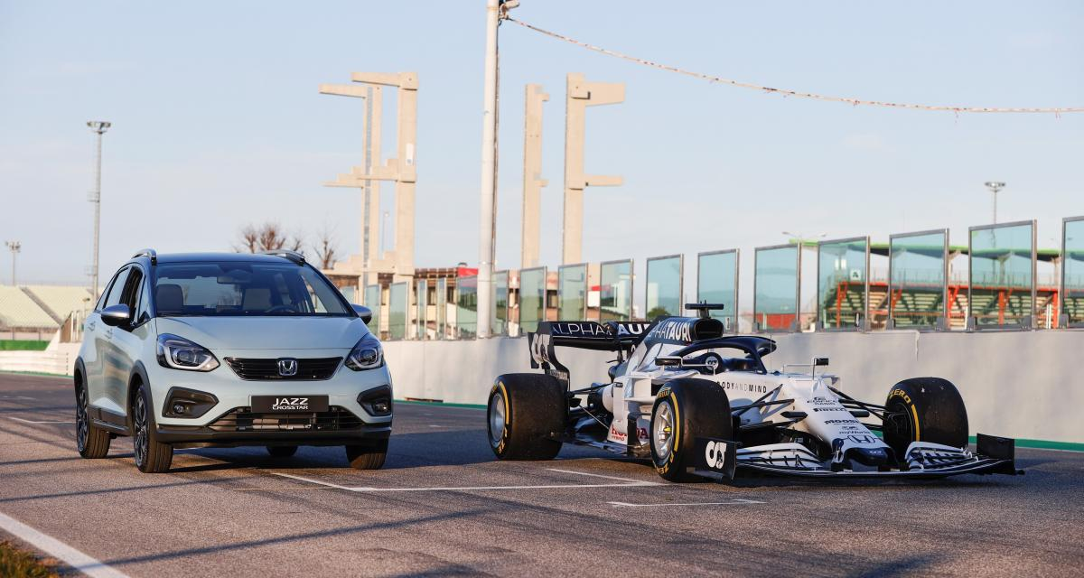 Honda Jazz : sa technologie hybride est dérivée de la F1