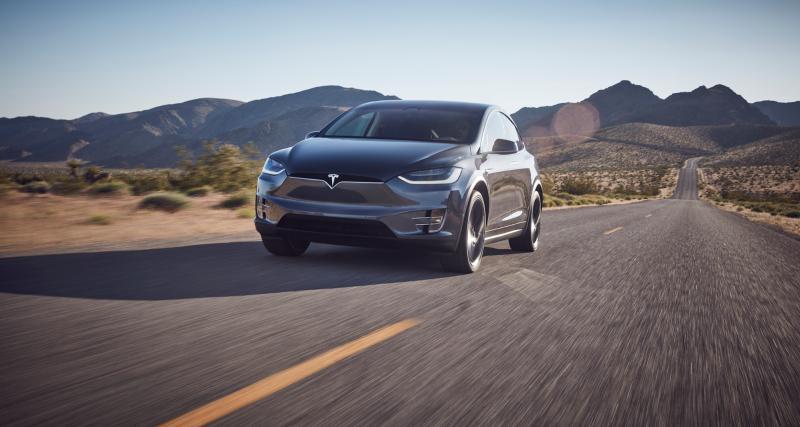 Tesla Model X : élue voiture de la Nasa