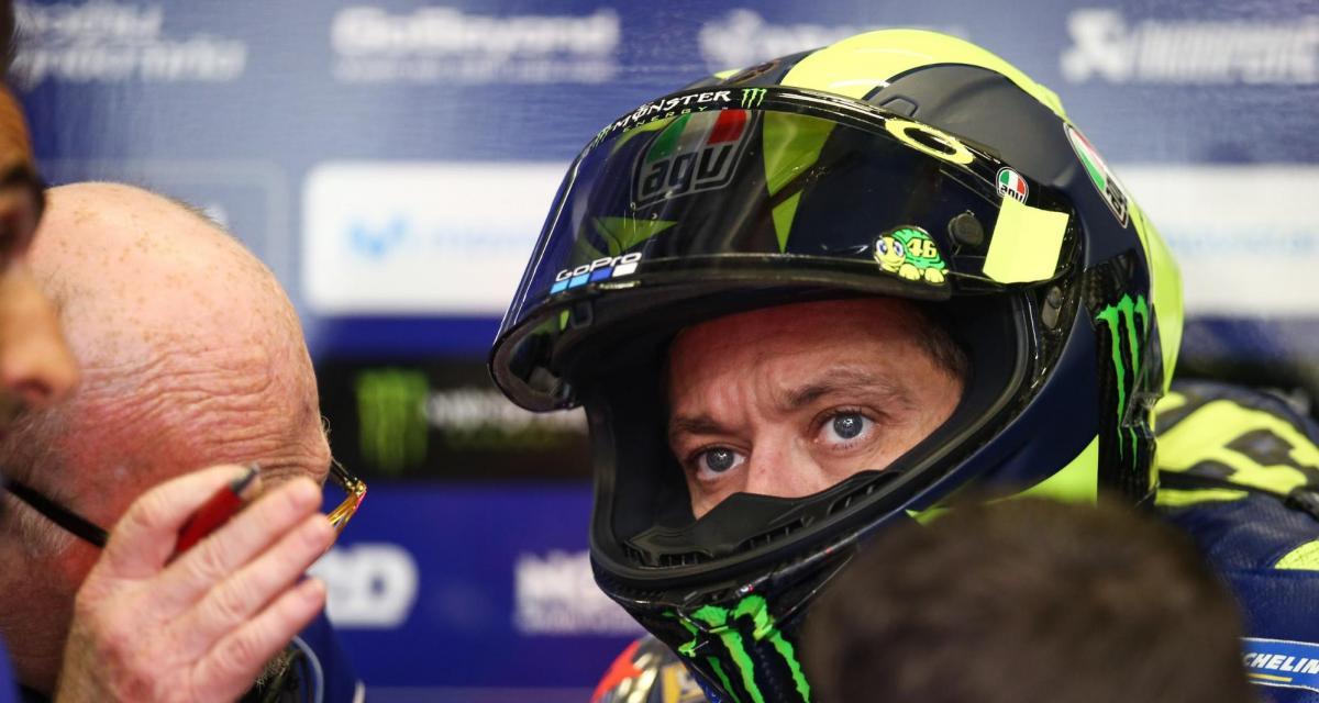 MotoGP : Valentino Rossi refoulé d'Italie et d'Autriche