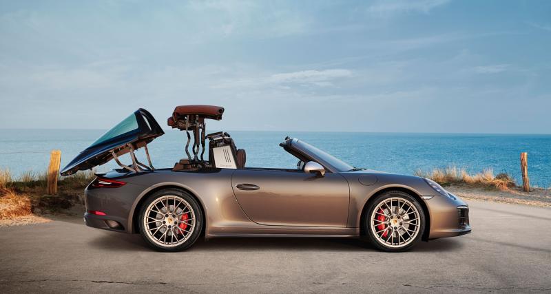 Porsche 911 type 992 Targa : présentation officielle le 18 mai 2020 (vidéo)