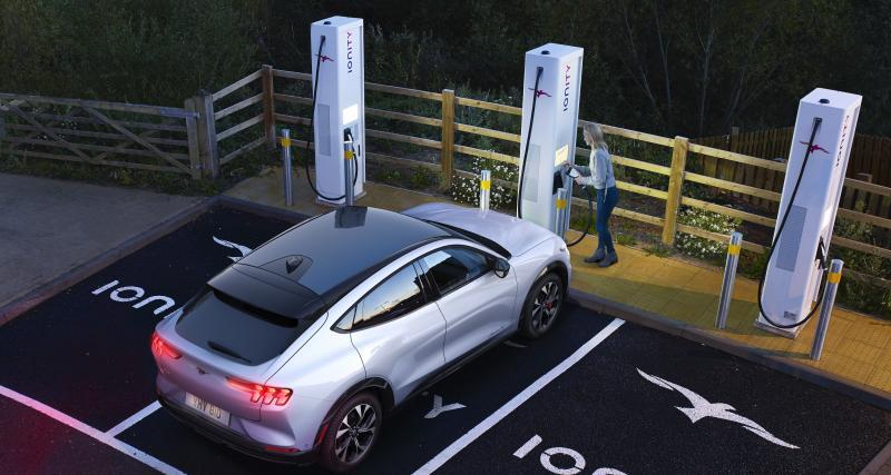 1000 bornes de recharge Ford en Europe attendues