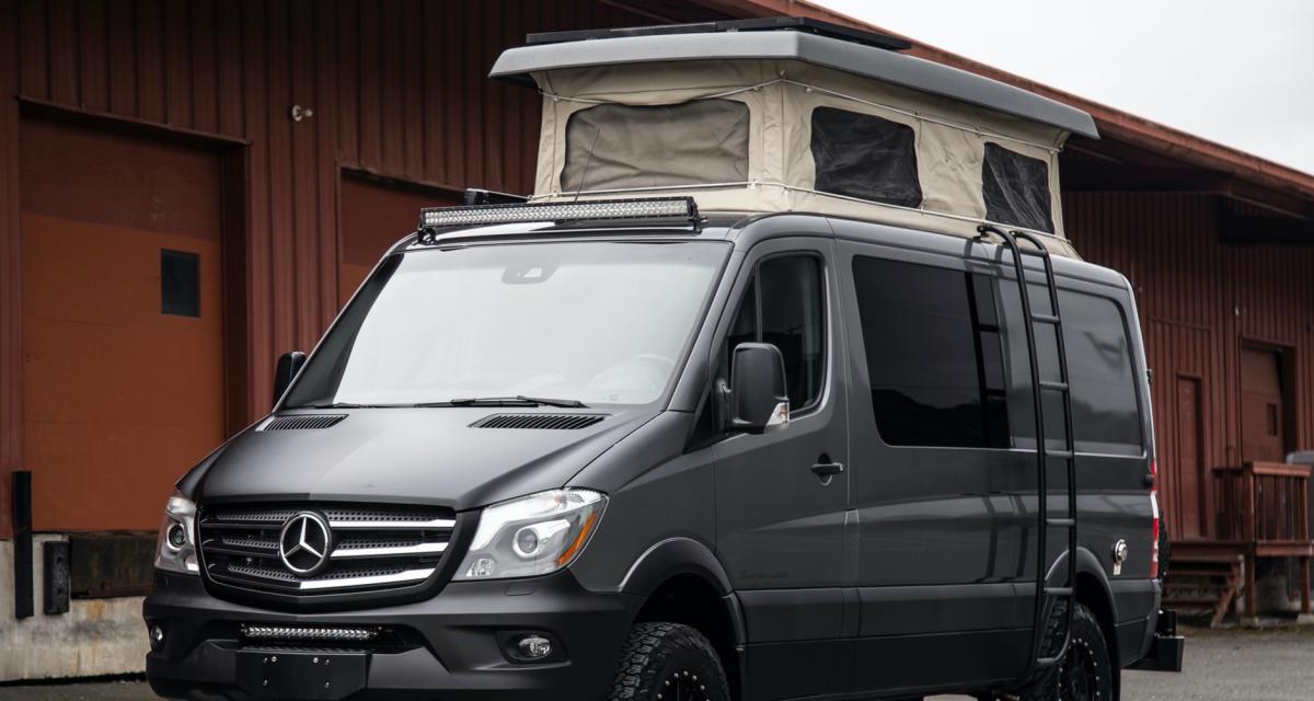 Camping-car : le Mercedes Sprinter Sportsmobile en mode vanlife