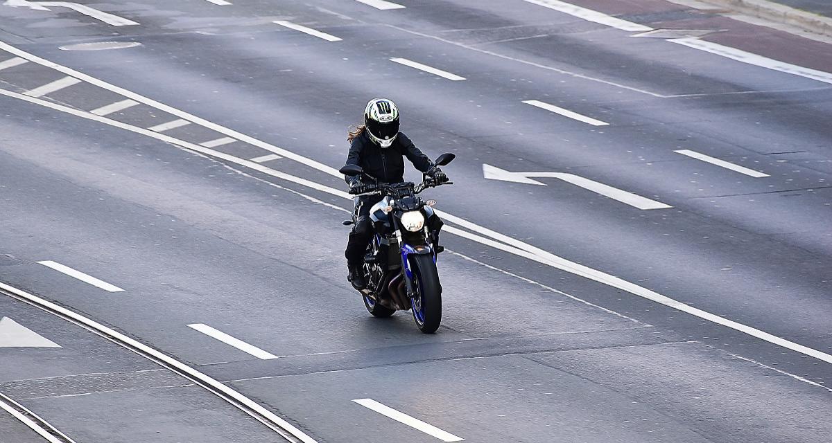 Une Honda CBR flashée à 177 km/h sur une nationale