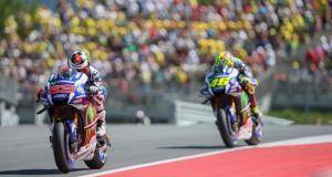 MotoGP : l'éloge de Jorge Lorenzo à Valentino Rossi