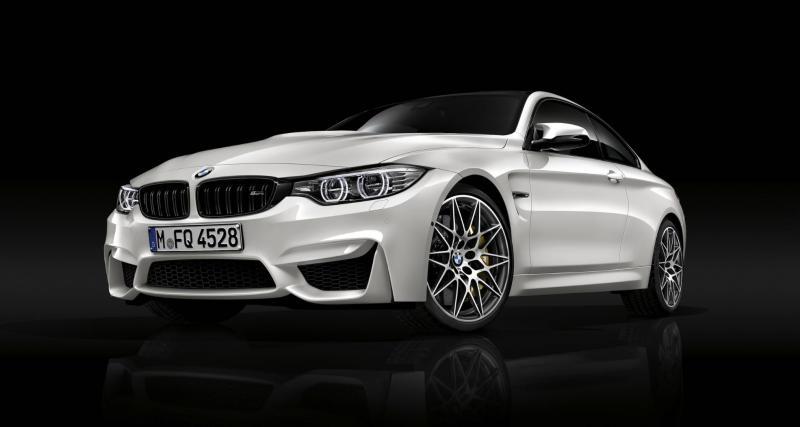 BMW M3 et Série 1 M : concours de drift sur les routes de montagne dans les Alpes