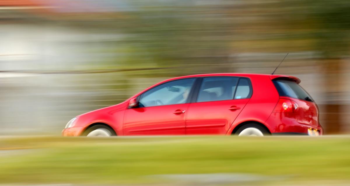 Un permis probatoire qui roule deux fois plus vite que la vitesse autorisée
