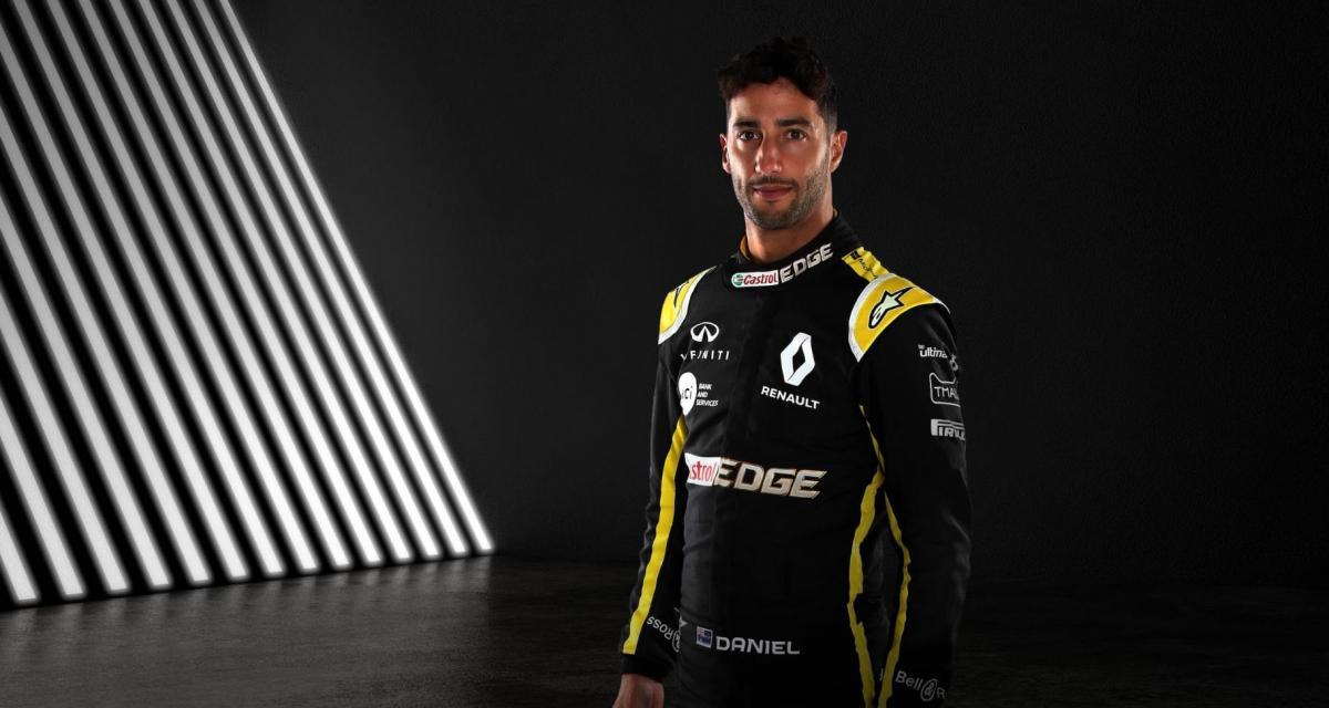 F1 : Renault n'est pas pressé de remplacer Ricciardo
