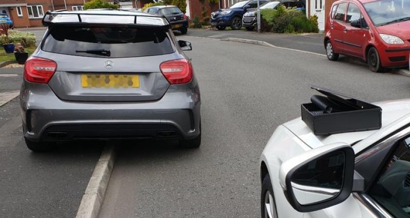 Excès de vitesse : un Anglais ne profite qu'une heure de sa nouvelle Mercedes AMG 45